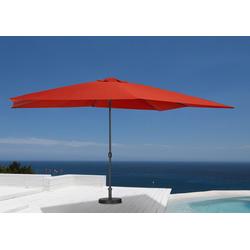 garten gut Sonnenschirm, ohne Schirmständer rot Sonnenschirme -segel Gartenmöbel Gartendeko Sonnenschirm