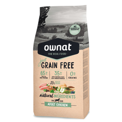 Ownat Just Grain Free Dog Adult Chicken (ehemals Optima) Hundefutter (14 kg)