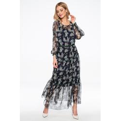 Lavard Luftiges Kleid mit Rüsche 88092  34