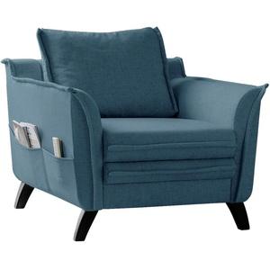 Sessel in Blau ´CHARMING CHARLIE TÜRKIS´