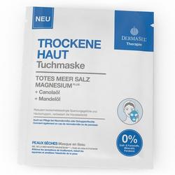 DERMASEL Therapie Tuchmaske trockene Haut 1 St