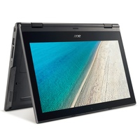 Acer TravelMate B118-RN-C6WX 2in1 Convertible Intel Quad-Core N3450 4GB 500GB Full-HD IPS Touch