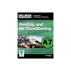 Heating and Air Conditioning - (ASE Test Prep: Automotive Technician Certification Manual) 5th Edition by Cengage Learning Delmar (Paperback)