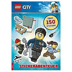 LEGO City - Stickerabenteuer - Buch