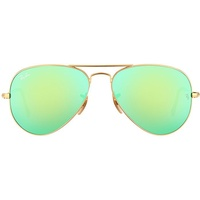 RB3025 62 mm gold / green flash