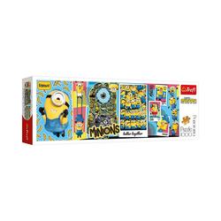 Trefl Puzzle Panorama-Puzzle Minions, 1.000 Teile, Puzzleteile