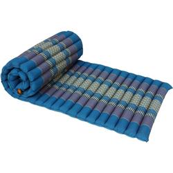 Guru-Shop Sitzkissen Rollbare Thaimatte mit Kapokfüllung