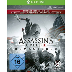 Assassins Creed 3 Remastered Xbox One USK: 16