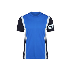 adidas Performance Trainingsshirt Climalite Colorblock blau