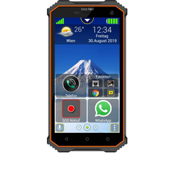 Baustellen & Outdoor Smartphone IP68.