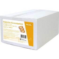 HELLMA Gebäck Karamell 1,8kg 300 x 6 g/Pack
