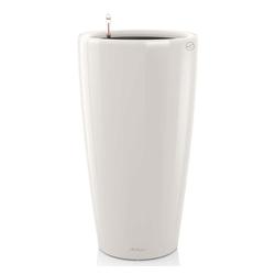 Lechuza® Blumentopf LECHUZA Blumentopf Rondo 32 Komplett-Set Hochglanz Weiß 15780 weiß