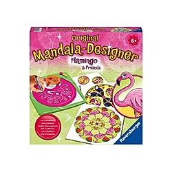 Midi Mandala-Designer Flamingo & Friends