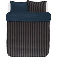 Marc O'Polo Classic Stripe braun (135x200+80x80cm)