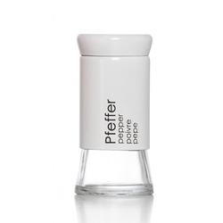 Pfefferstreuer CANTINA Glas weiß RITZENHOFF 147995 (DH 6x11 cm) Ritzenhoff & Breker