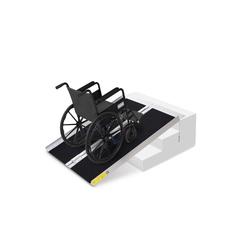 HOMCOM Auffahrrampe Rollstuhlrampe faltbar