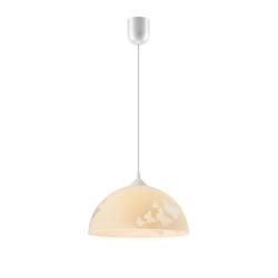 Licht-Erlebnisse Pendelleuchte ADANIA Küchenlampe Pendelleuchte Gelb Glasschirm Schmetterling Motiv