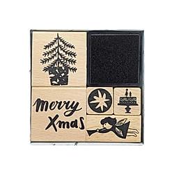 Stempelset  Jolly Christmas  Engel