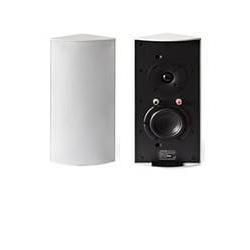 Cornered Audio Ecklautsprecher C3 (Set aus 2 Lautsprechern) Weiß