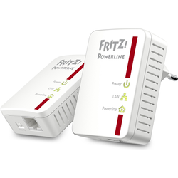 AVM FRITZ!Powerline 510E Set, 2 Adapter (500Mbit/s), Powerline