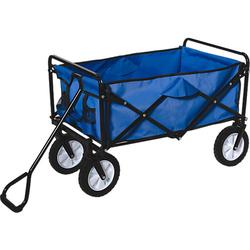Bollerwagen, blau, faltbar