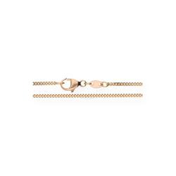 JuwelmaLux Goldkette Kette Rotgold 50 cm