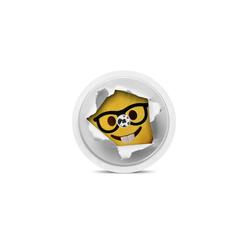 Freestyle Libre Sensor Sticker - Smiley
