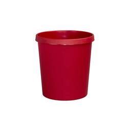 Helit Papierkorb H61058, 18 Liter rot
