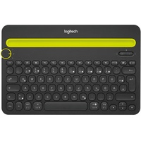 Bluetooth Multi-Device Keyboard DE schwarz (920-006350)