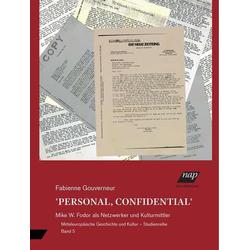 PERSONAL CONFIDENTIAL als Buch von Fabienne Gouverneur