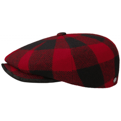 Lierys 8-Panel Cap Woolrich Check