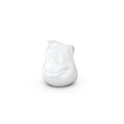 FIFTYEIGHT PRODUCTS Sahnekännchen Kännchen drollig Teekännchen Kaffeekanne Porzellan weiß