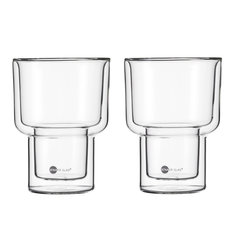 JENAER GLAS Becher MATCH Doppelwandig XL 2er SET HOT´N COOL