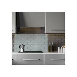 relaxdays Spritzschutz Spritzschutz für die Küche 100 cm 0.6 cm x 50 cm x 100 cm
