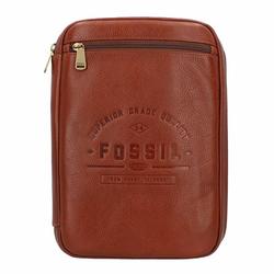 Fossil Tech Handtaschen Organizer Leder 21 cm tan