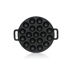 BBQ-Toro Grillplatte BBQ-Toro Gusseisen Poffertjes Pfanne, Förtchenpfanne für 19 Förtchen, Ø 24 cm