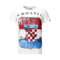 Key Largo T-Shirt mit Croatia-Print M
