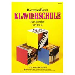 Bastiens Basis Klavierschule für Kinder Stufe 4