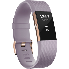 Fitbit Charge 2 lavendel / rosegold S