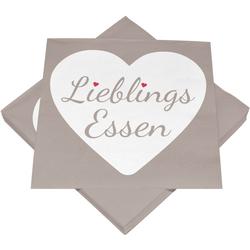 Servietten LIEBLINGSESSEN Heku GmbH