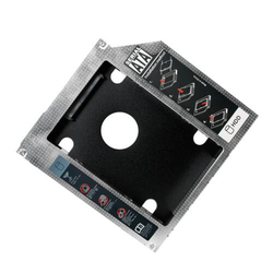 LogiLink Notebook SATA Festplatten Caddy für 12,7 mm hohe Laufwerke