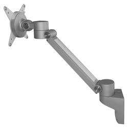 ORGPF | ORGA Bildschirmhalter flexibel -   Silber Orga-Bildschirmarm