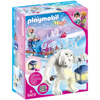 Playmobil Magic Schneetroll mit Schlitten (9473)