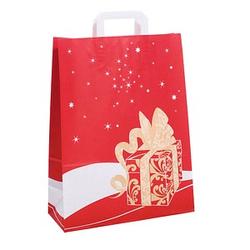250 Geschenktaschen Weihnachtsgeschenk rot