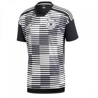 adidas DFB Pre-Match Shirt 2018 weiß/schwarz Herren