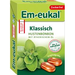 EM EUKAL Bonbons klassisch zuckerfrei Box 50 g