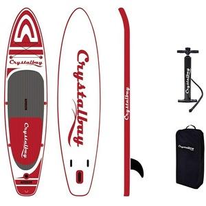 Crystalbay SUP-Board-Set 330 Shark Next  (L x B x H: 330 x 75 x 12 cm, Nutzlast: 120 kg, Aufblasbar)
