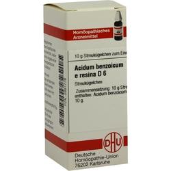 ACIDUM BENZOIC E RES D 6