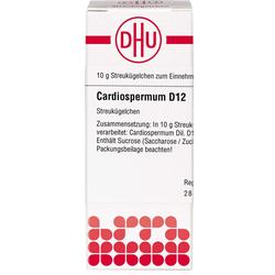 CARDIOSPERMUM D 12 Globuli 10 g