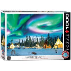 Nordlicht - Yellowknife (Puzzle)